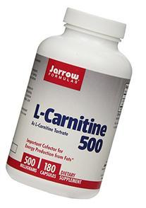 Jarrow Formulas L - Carnitine Tartrate, Assists in Energy