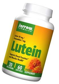 Jarrow Formulas Lutein 20mg 60 softgels