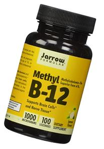 Jarrow Formulas Methylcobalamin , Supports Brain Cells and