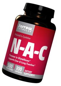Jarrow Formulas N-A-C , Supports Liver & Lung Function, 500