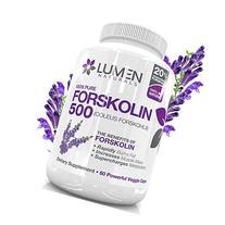 "Forskolin 500mg 2X Strength 20% Standardized - Get the """