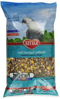 Kaytee Forti Diet Pro Health Bird Food for Parrots, 8-Pound