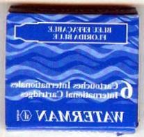 Dunhill Fountain Pen Ink Cartridges Blue