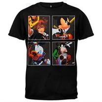 Kingdom Hearts - Four Kings T-Shirt - M
