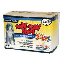 Four Paws Wee-Wee Adult Dog Housebreaking Pads, 75 Pack