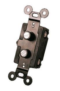 Classic Accents Four Way Antique Reproduction Push Button
