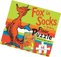 Fox in Socks by Dr. Seuss Floor Puzzle: Includes 48 giant