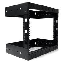 StarTech.com 8U Open Frame Wall Mount Equipment Rack -