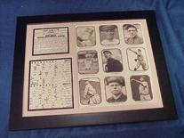11x14 Framed & Matted 1908 Chicago Cubs World Series
