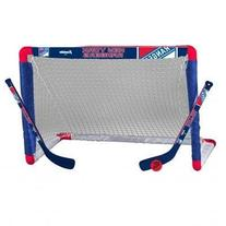 Franklin 12442F20 Nhl Mini Hcky Goal Set Rangers