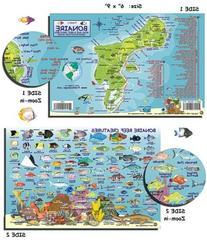 Franko Laminated Maps - Fish ID and Maps - Bonaire Scuba