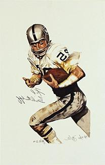Fred Biletnikoff Signed Autographed GALLERY PROOF 11x27