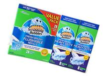 Scrubbing Bubbles Fresh Brush Heavy Duty 16 Count and 28