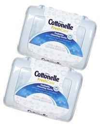 Cottonelle Fresh Care Flushable Moist Wipes Tub, 42ct, 2pk