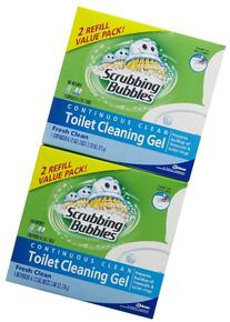 SC Johnson Fresh Clean Scrubbing Bubbles® Toilet Cleaning