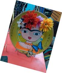 Frida Kahlo home decor plate