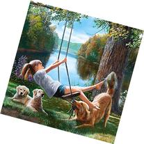 MasterPieces Best Friends Flying Free Jigsaw Puzzle, 500-