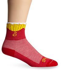 Men's Fries Socks, Red, Sock Size:10-13/Shoe Size: 6-12