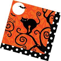 Amscan Frightfully Fancy Halloween Disposable Beverage Paper