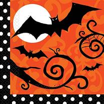 Amscan Frightfully Fancy Halloween Lunch Napkins
