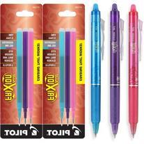 Pilot FriXion Clicker Retractable Erasable Gel Ink Pens,