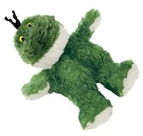 KONG Frog Dog Toy, Extra Small, Green