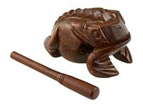 Meinl Percussion FROG-L Large Wooden Frog Guiro, African