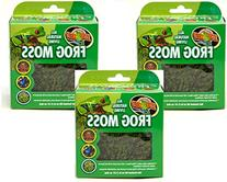 Zoo Med Frog Moss, 80 Cubic Inches Each