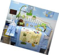 SoHo Froggie Jumping in Baby Crib Nursery Bedding Set 14 pcs