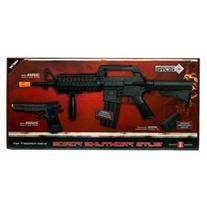 Game Face Front Line Force Rifle/Pistol Kit 6mm BB 50030