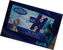 Disney Frozen Bath Towel & Wash Cloth Set Navy Blue OLAF
