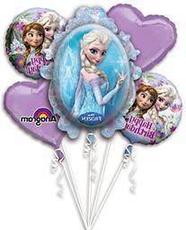 Disney Frozen Birthday Balloon Bouquet