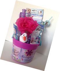 "Disney Frozen 5"" Bucket of Fun Gift Set Featuring Elsa and"