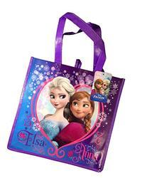 Disneys Frozen Elsa & Anna Reusable Tote Bag