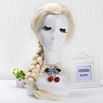 Frozen Elsa Cosplay Wig - Braided