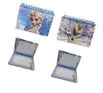 Lot of 2 Disney Frozen Elsa & Olaf Autograph Book