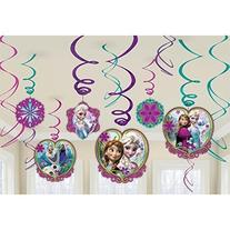 Frozen Hanging Swirl Decorations