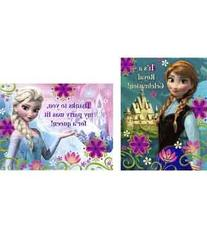 Frozen Invitation and Thank You