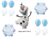1 X Frozen Olaf Snowflakes Disney Movie BIRTHDAY PARTY