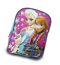 "Disney Frozen Princess Elsa and Anna Large 15"" School Bag,"