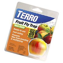 TERRO Fruit Fly Trap-New Mega Size Package-8 Traps