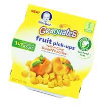 Gerber Graduates Fruit Pick Ups - Peach, 4.5-Ounce