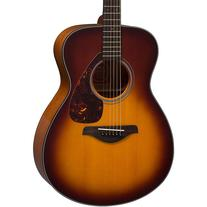 Yamaha Fs700s Solid Top Concert Acoustic Guitar Tobacco
