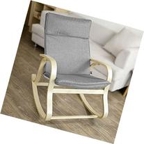SoBuy FST15-DG, Comfortable Relax Rocking Chair, Lounge