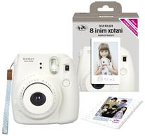 Fuji Instax Mini 8 N White + Original Strap Set Fujifilm