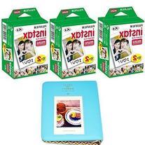 Fujifilm INSTAX Mini Instant Film 60 sheets White  With