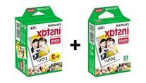 Fujifilm Instax Mini Instant Film, 30 sheets BUNDLE Includes