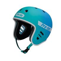 PRO-TEC Fullcut Fade Teal / Blue Skateboard Helmet - Large