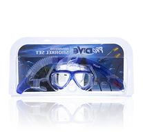 ProDive Dry Top Snorkel Set with Tempered Glass Diving Mask