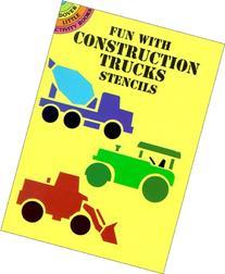 Fun with Construction Trucks Stencils